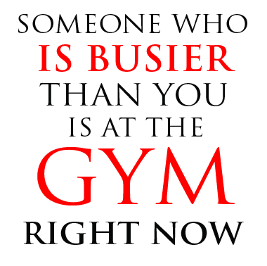 Busier than you